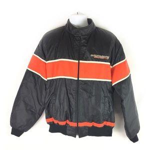 HARLEY DAVIDSON | jacket vintage quilted nylon XXL